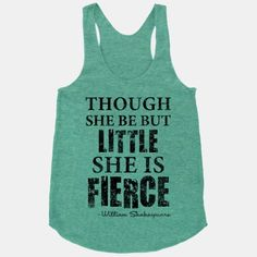 Little But Fierce | HUMAN | T-Shirts, Tanks, Sweatshirts and Hoodies