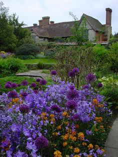 Garden at Great Dixter, England. Photo by: Karl Gercens. Great Dixter was the family home of gardener and gardening writer Christopher Lloyd – it was the focus of his energy and enthusiasm and fuelled over 40 years of books and articles.