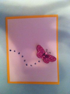 homemade card for sale on etsy