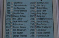 I will sell my 1966 Topps Baseball Checklist #279 for $3.00