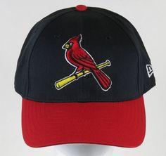 St. Louis Cardinals New Era Baseball Cap Hat Black Red Yellow Bird Snap Back New #NewEra #BaseballCap