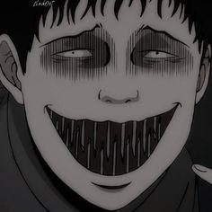 M Anime, Dark Anime, Anime Art, Arte Horror, Horror Art, Aesthetic Movies, Aesthetic Anime, Anime Monochrome, Japanese Horror