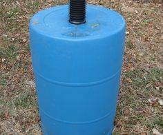 I have researched many rain barrel plans out there and I believe that mine is one of the most adaptable, effective, simple to make, and cheapest out there. After you have found a barrel, the rest of the parts and tools can be found at most hardware stores. Let me know if you have any ideas for improvement.  I made this barrel for about $15, but using bulk discounts I was making them on average for about $12-$13.  I can make one in about 10 minutes if I have all my parts and tools l... Rain Barrels, Rain Water Barrel, Rain Garden, Love Garden, Balcony Garden, Backyard Projects, Garden Projects, Garden Tools, Backyard Ideas