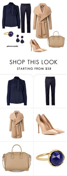 """outfit245"" by vicinogiovanna ❤ liked on Polyvore featuring Steffen Schraut, Wooyoungmi, Gianvito Rossi, Givenchy, Irene Neuwirth, Monica Vinader, women's clothing, women's fashion, women and female"