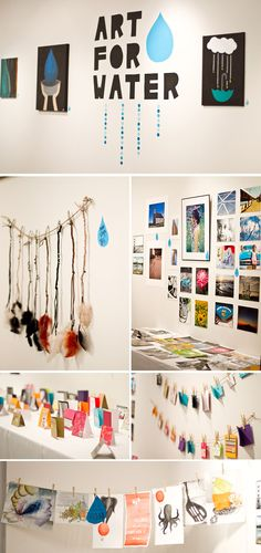 water project, allison jean, art crafts, creativ fundrais, photograph, clean water, art supplies, fundrais idea, rais fund