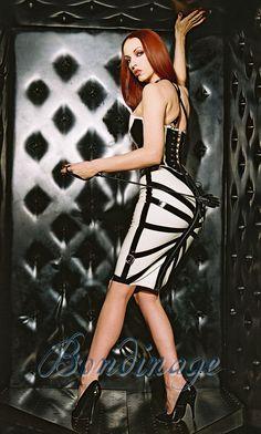 Starburst Latex Bondage Skirt by Bondinage on Etsy, £150.00