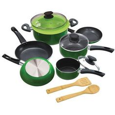 EEGN1212-Epoca EEGN1212 Elements Cookware Set Green (EEGN 1212) | RetailStores.com | Online Shopping for Home, Office & Outdoors and so much more