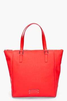 MARC BY MARC JACOBS Red Take Me Tote