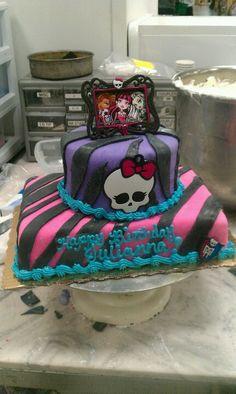 Monster's high cake.