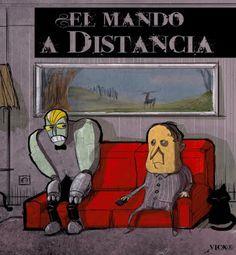 ILUSTRANDO: EL MANDO A DISTANCIA
