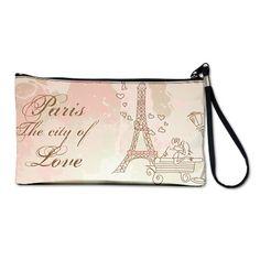 Paris - Eiffel Tower Clutch Bag on CafePress.com