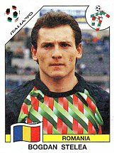 Panini Football World - Italy 1990 World Cup - Bogdan Stelea - Romania