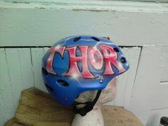 Thor Baseball helmet