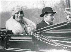 Ślub szwedzkiej księżniczki Märthy i księcia koronnego Norwegii Olava - 21.03.1929r.