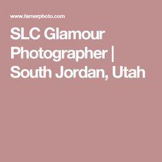 SLC Glamour Photographer | South Jordan, Utah