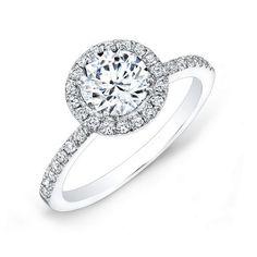 Forevermark Center of My Universe Round Diamond Halo Ring 1 1/6ctw - Item 19494632 | REEDS Jewelers