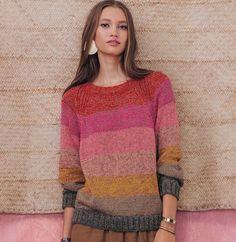 Free Crochet Sweater Pattern For Women Sweater Knitting Patterns, Knitting Designs, Knit Patterns, Hand Knitting, Pull Mohair, Knitwear Fashion, How To Purl Knit, Mohair Sweater, Knit Crochet