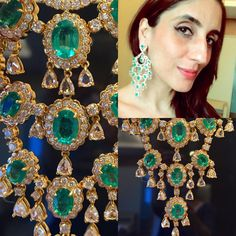 """Emeralds and me  #fkfjdesign #fkfj #farahkhanali @farahkhanfinejewellery #FarahKhanFineJewellery """