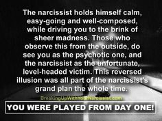 Narcissist, sociopath, psychopath, abuse, crazy, emotional, power, control, hate, manipulate, cheat, steal, lie, drain, vampire, chaos, confuse, negative, truth, believe, strong, courage
