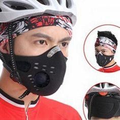 Anti-Pollution Cycling Face Mask