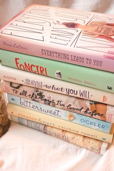the-book-ferret: Books & Cupcakes June Book Photo Challenge Day Sixteen: Book Stack