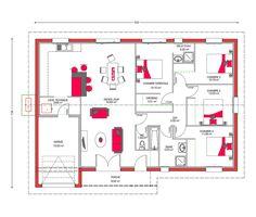 Couleurs Villa vous propose la Villa Galane, moderne, contemporaine cette maison est idéale pour des familles . Le modèle est disponible en 3 versions.