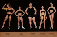 Athletic bodies: one size does NOT fit all