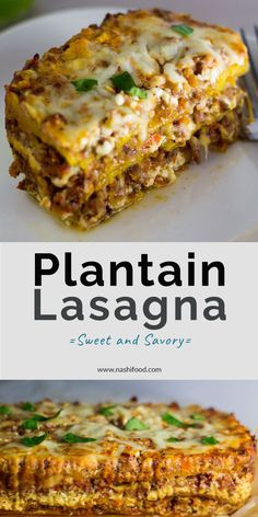 Plantain Lasagna: A Sweet and Savory Twist Plantain Lasagna: A Sweet and Savory Twist,– Ultimate Comfort Food — Plantain Lasagna – a sweet and savory version of lasagna, made with sweet plantains, beef, and. Comida Boricua, Boricua Recipes, Mexican Food Recipes, Beef Recipes, Cooking Recipes, Guyanese Recipes, Latin Food Recipes, Dutch Recipes, Recipies