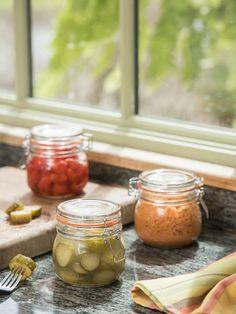 Round Clip-Top Preserve Jars, 17 oz., Set of 3 by Kilner