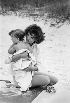 Mark Shaw photo. The official photographer of the Kennedy's. (this photo was actually taken in Hyannis Port in 1959 before JFK became president.)