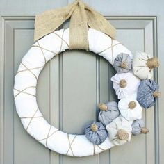 7 DIY Fall Wreaths for a Simple Front Porch Upgrade