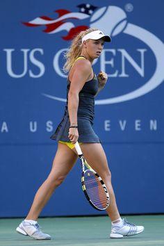 More Pics of Caroline Wozniacki Ponytail Australian Open, Caroline Wozniacki Tennis, Tennis Clothes, Tennis Outfits, Camila Giorgi, Adidas Cap, Female Athletes, Women Athletes, Tennis Players Female
