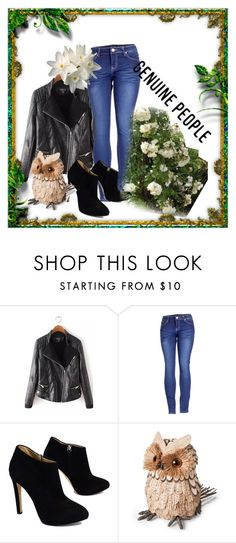 """""""Genuine people"""" by merima-gutic ❤ liked on Polyvore featuring 2LUV, Giuseppe Zanotti and Smith & Hawken"""