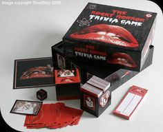 The Rocky Horror Picture Show Trivia Game! i would win!