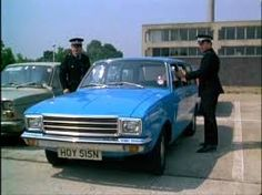 Lovely new Hillman Hunter estate from the Sweeney Episode 'Thou shalt not kill' which was used as a getway car by Wands and Monk