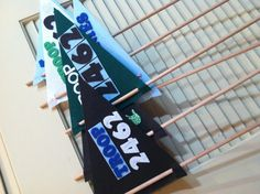 Girl Scout pennants