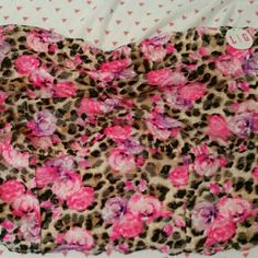 NWT never even tried on VS PINK bralette Cute cute cute! VS PINK leopard and floral print bralette. It's the wider band type, which helps them stay in place better imo (ladies with the larger busts know what I'm talking about lol!) I bought this and another bralette at the same time, and realized too late that I really can only wear the DD Pink styles. ?? So this is new with tags still, never washed or worn! Make me an offer if you don't like the price and then bundle to save 20% off of…