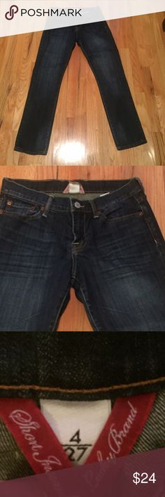 Lucky Brand prewashed jeans - NWOT Lucky Brand jeans - NWOT - super soft prewashed comfort.  Short inseam. Lucky Brand Jeans