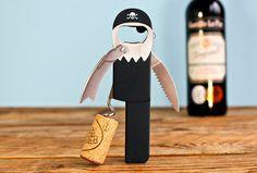 Unique Host Gift: Legless Pirate Corkscrew