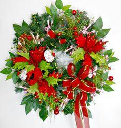 Sweet Treats Christmas Wreath