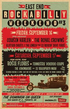 Rockabilly Weekend Poster