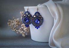 Romantic soutache earrings