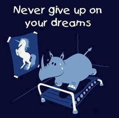 Enjoy this rhino-unicorn meme. Never give up on your dreams. Go rhino! You can change into a unicorn! Rhino Animal, Real Unicorn, Unicorn Humor, Unicorn Club, Happy Unicorn, Purple Unicorn, Unicorn Art, Humor Grafico, Workout Humor
