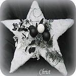 Kerststuk maken met eenvoudige bloemschikmaterialen - Modern kerststuk maken in zwart en wit - bloemschikken kerst