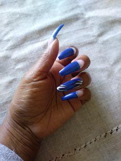 Long Nail Designs, Long Nails, Beauty, Beauty Illustration