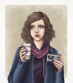 Ana Dalle — Hannah Baker from 13 Reasons Why fanart
