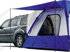 they make tents to go on the back of our new-to-us suv (Honda Pilot)... I didn't even know that when we bought it! BONUS!! :-)