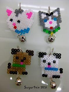 Medallas modelo perros y gatos para el collar de tu mascota.  Si te gustan puedes adquirirlas en nuestra tienda on-line: http://www.sugarshop.eu