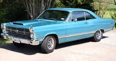 This 1967 Ford Fairlane 500 Hardtop is something of a unique beast. So, what makes this car special when Ford made so many of these Fairlanes? Pontiac Gto, Chevrolet Camaro, Mustang Cars, Ford Mustang, Ford Torino, Ford Classic Cars, Classic Mustang, Old Fords, Ford Fairlane