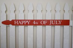 4th of july fence decorations